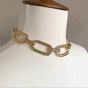Express Gold Statement Chain Link Choker